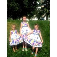 Малышки сестренки в наших нарядах